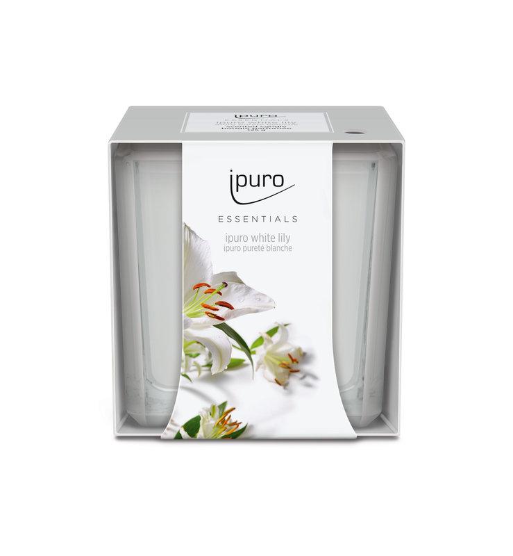 IPURO ESSENTIALS GEURKAARS 125G WHITE LILY