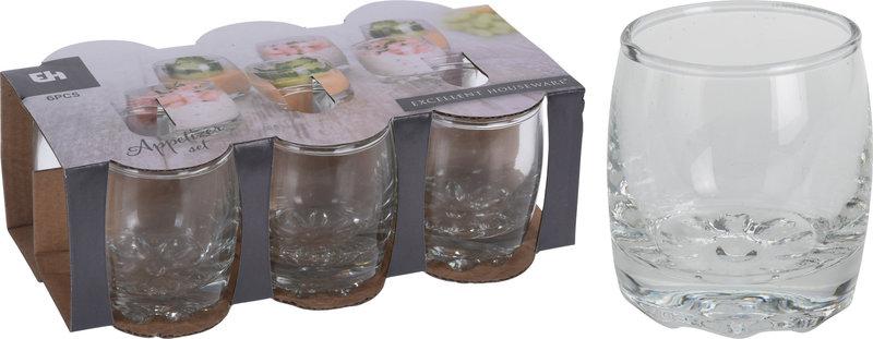 AMUSESET GLAS DIA 45MM 6STS
