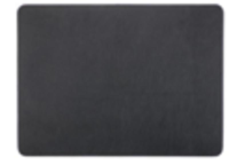 PLACEMAT LEDER LOOK 33X45CM ZWART
