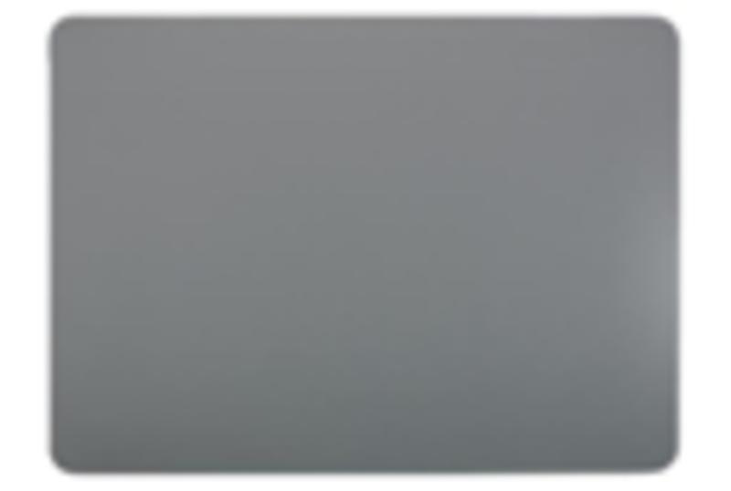 PLACEMAT LEDER LOOK 33X45CM GRIJS