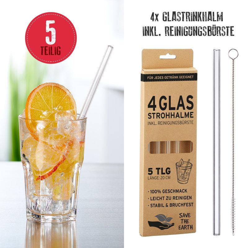 DRINKRIETJES GLAS PER4
