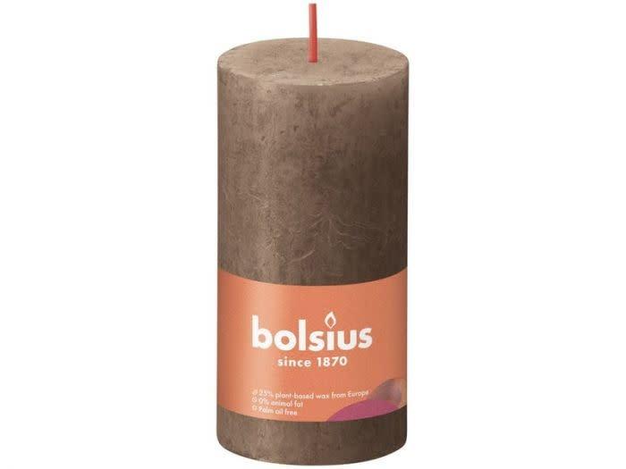 BOLSIUS RUSTIEK STOMPKAARS 100/50  SUEDE BROWN (8)-1