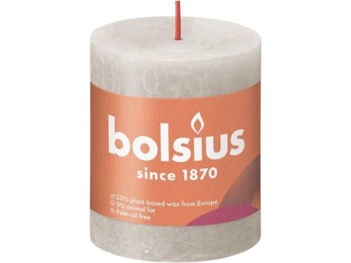 BOLSIUS RUSTIEK STOMPKAARS 80/68  SANDY GREY (4)-1