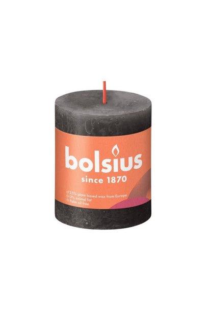 BOLSIUS RUSTIEK STOMPKAARS 80/68 STORMY GREY (4)