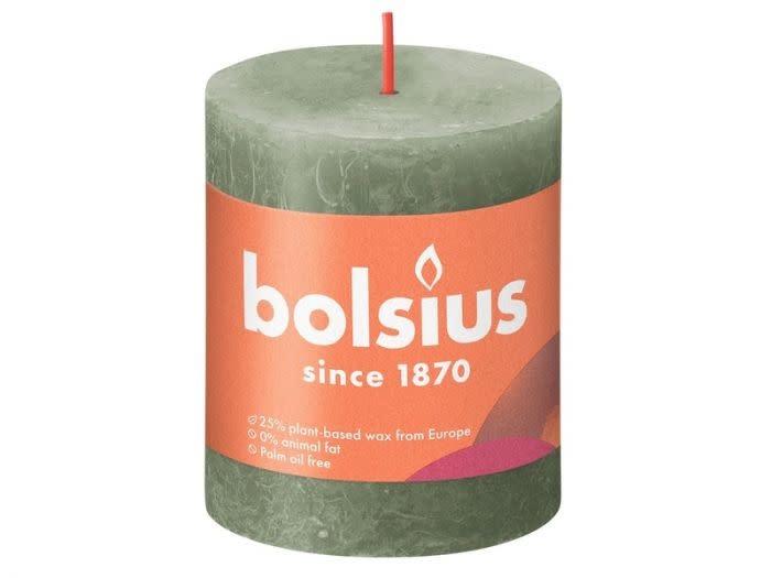 BOLSIUS RUSTIEK STOMPKAARS 80/68  FRESH OLIVE (4)-1