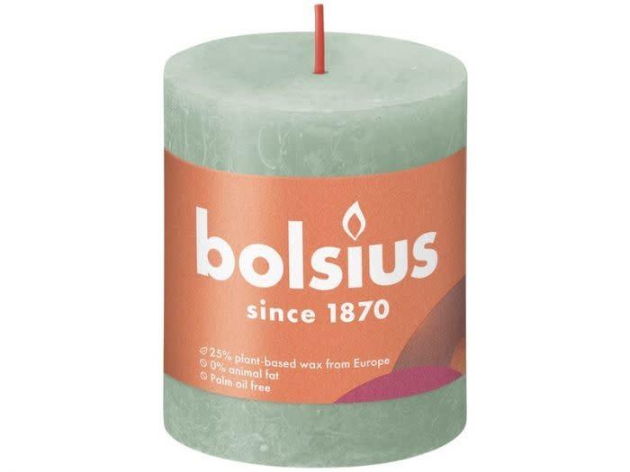 BOLSIUS RUSTIEK STOMPKAARS 80/68  SAGE GREEN (4)-1