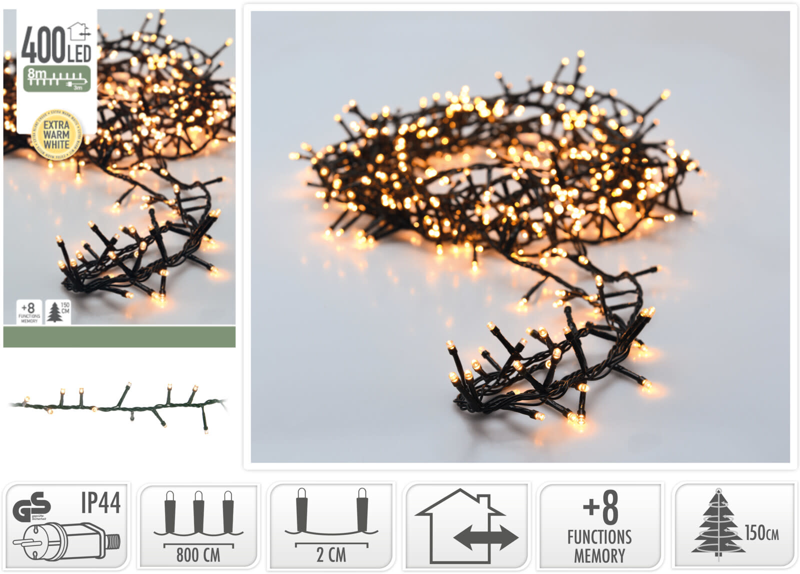 MICROCLUSTER 400LED EXTRA WW-2