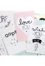 A Little Lovely Company Selfie cards