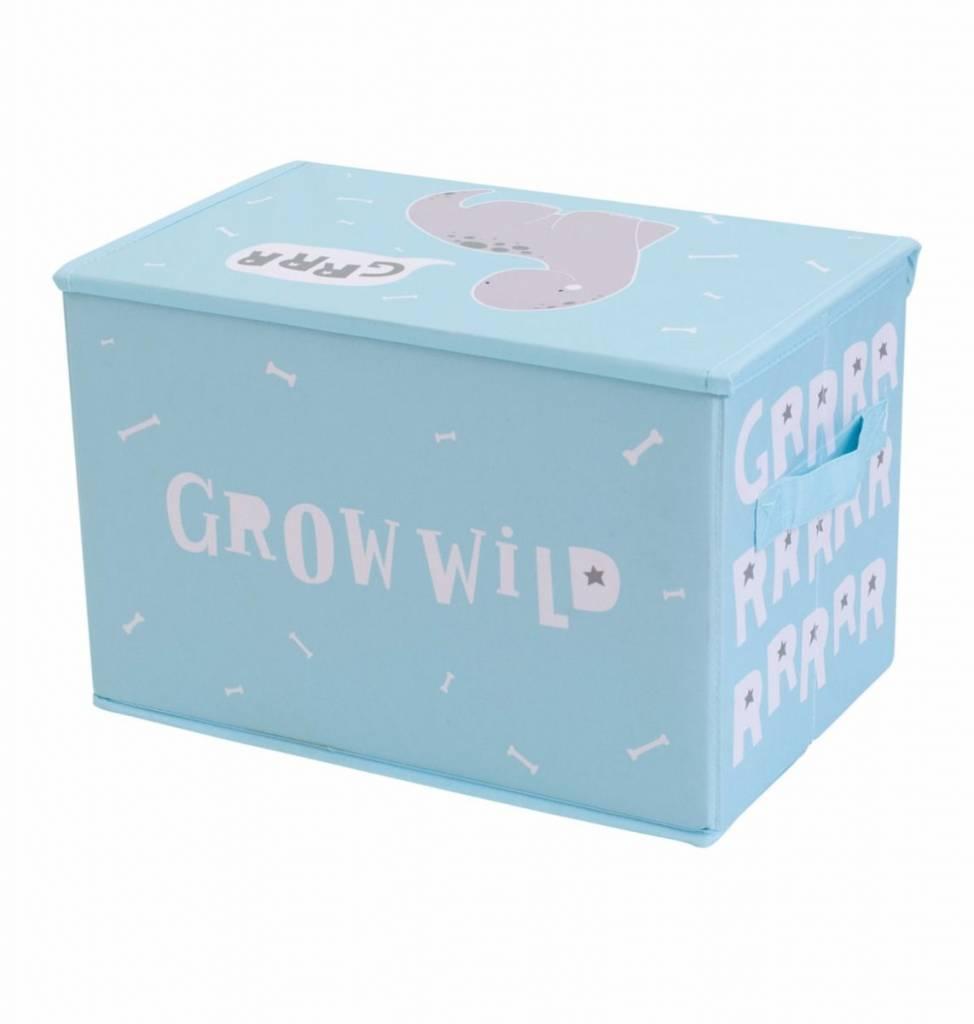 A Little Lovely Company Pop-up storage box Brontosaurus