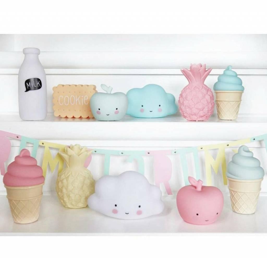 A Little Lovely Company Mini Pineapple light Pink
