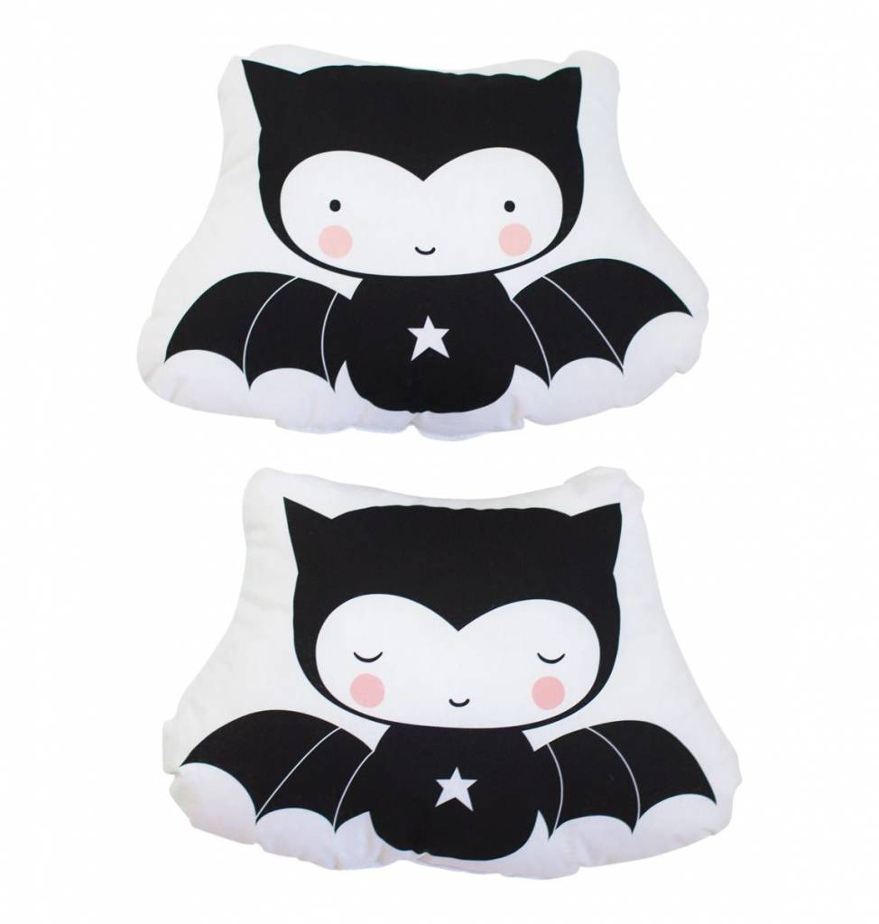 A Little Lovely Company Little Cushion Bat