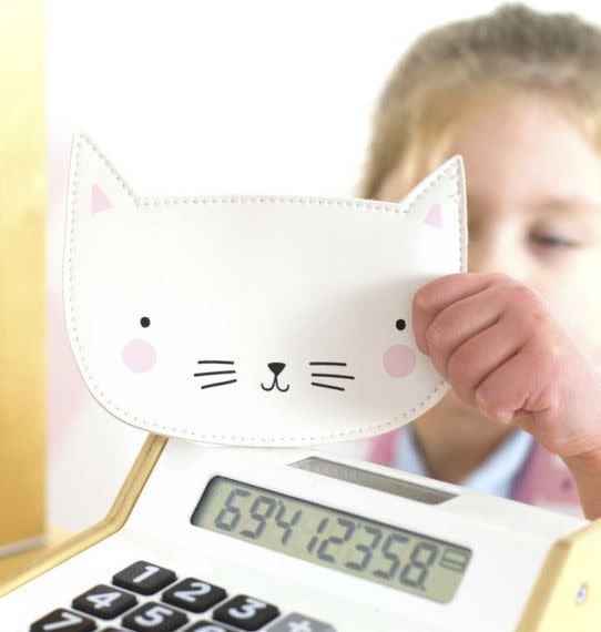 A Little Lovely Company Purse Cat