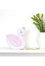 A Little Lovely Company Money Box Swan