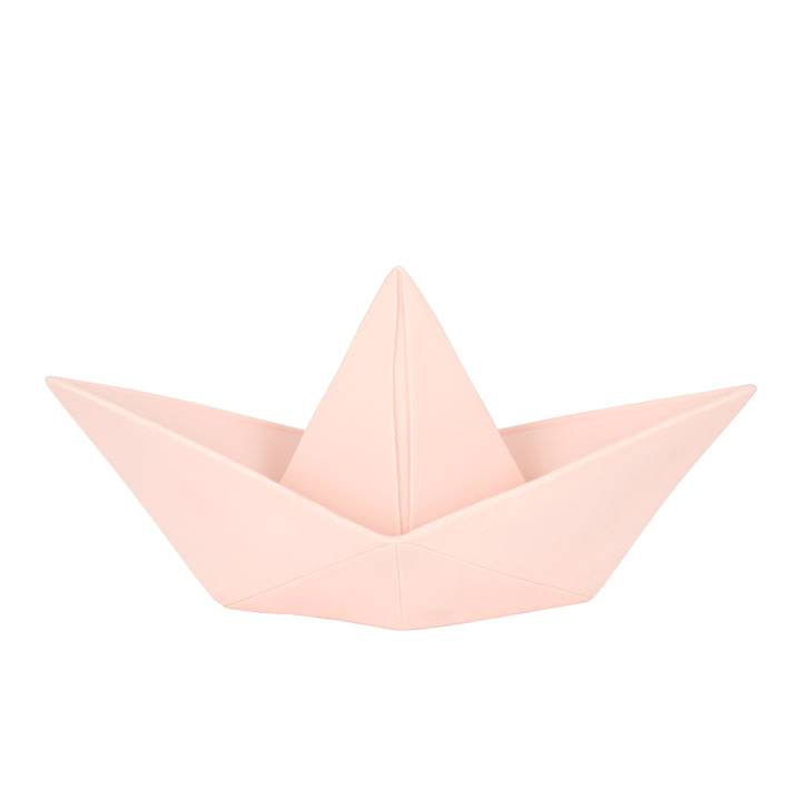 Goodnight Light Paperboat lamp Pastel Pink