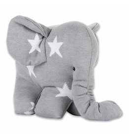 Baby's Only Ster Olifant Grijs/Wit