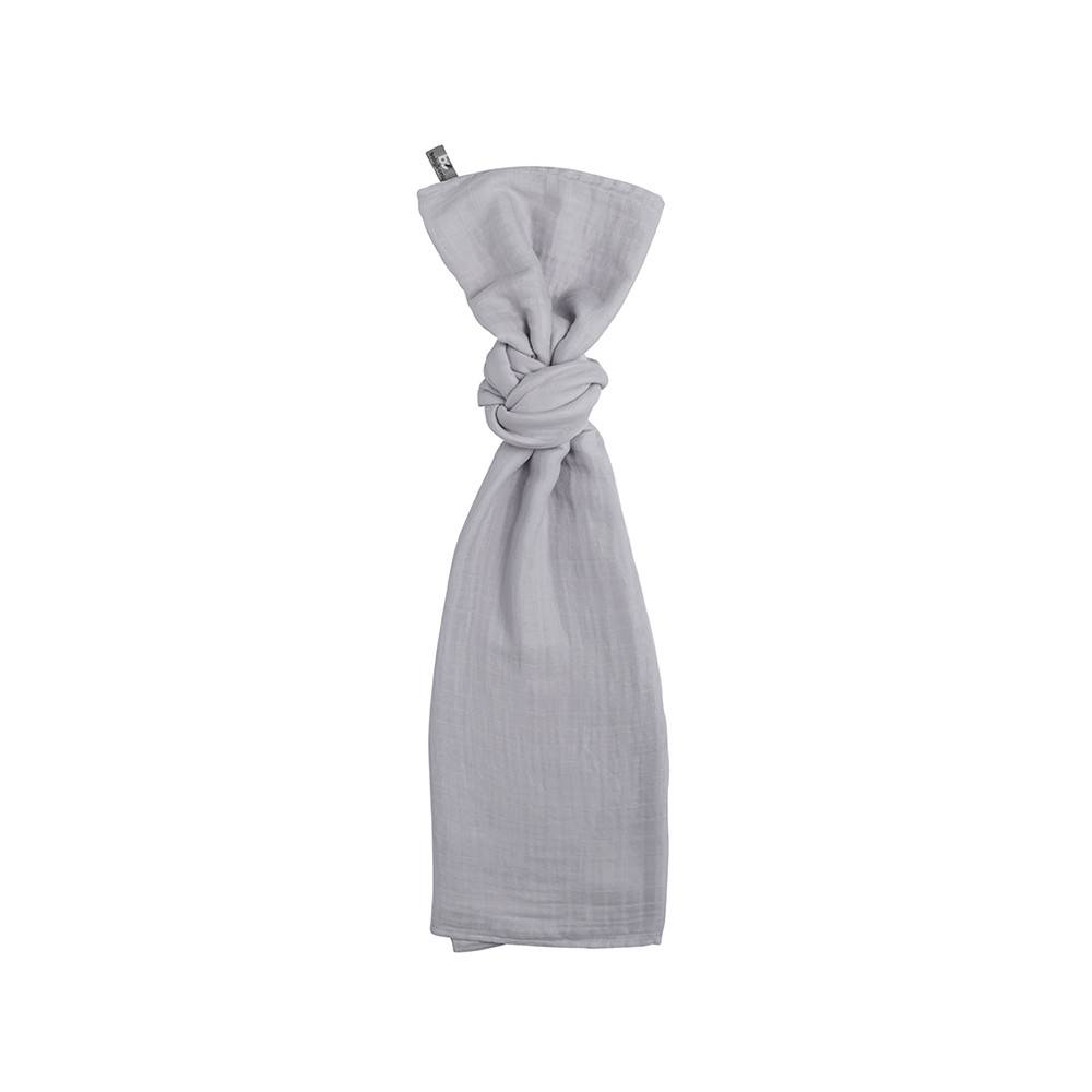 Baby's Only Swaddle Zilvergrijs 120x120cm