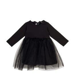 House Of Jamie Oversized Tulle Dress Black