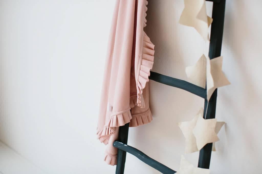 House Of Jamie Blanket Powder Pink 100x90cm