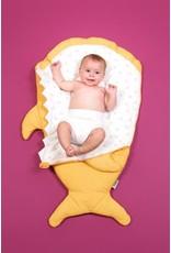 Babybites Slaapzak Shark Geel Baby Bites