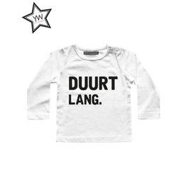 Your Wishes Duurt lang Shirt Longsleeve White