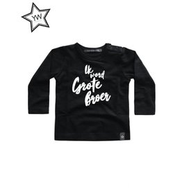 Your Wishes Grote Broer Tee Longsleeve Black