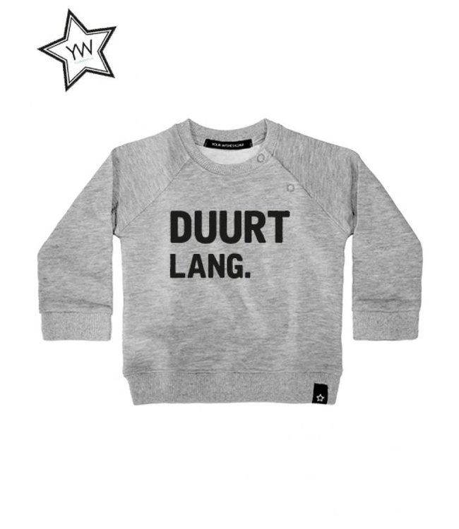 Your Wishes Duurt Lang Sweater Grey