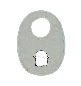 Lassig Lassig Medium Bib Little Spookies Olive