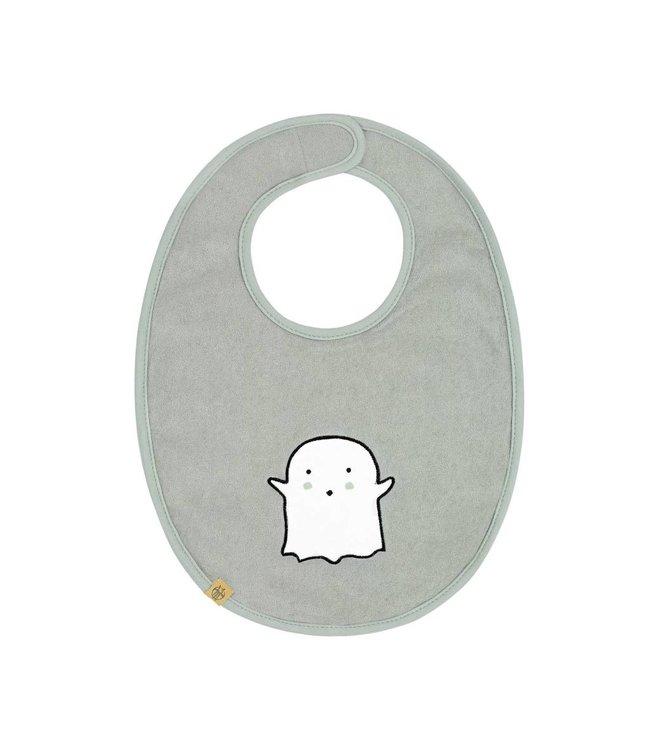 Lassig Lassig Medium Bib Little Spookies Olive