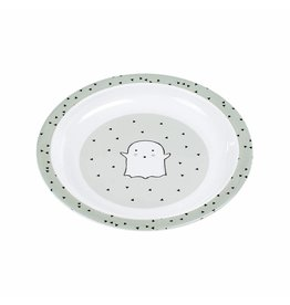 Lassig Lassig Dish Plate Little Spookies Olive