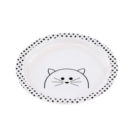 Lassig Dish Plate Little Chums Cat