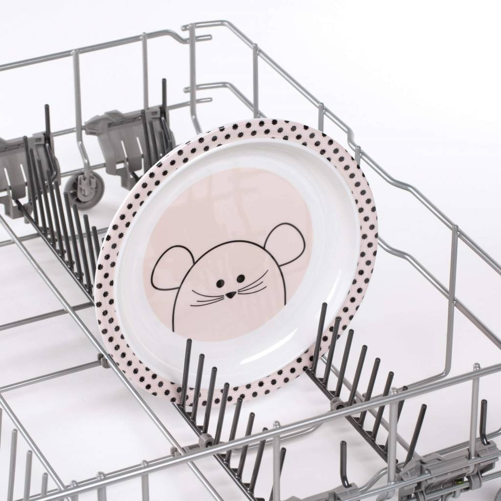 Lassig Dish Plate Little Chums Mouse
