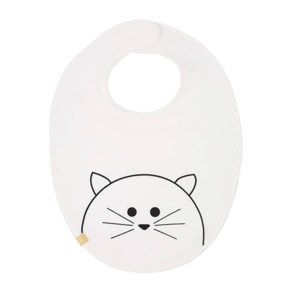 Lassig Medium Bib Little Chums Cat