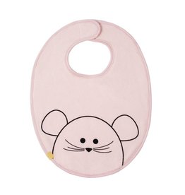 Lassig Medium Bib Little Chums Mouse