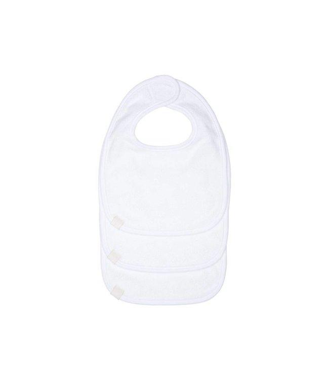 Lassig Newborn Bib White 3-Pack