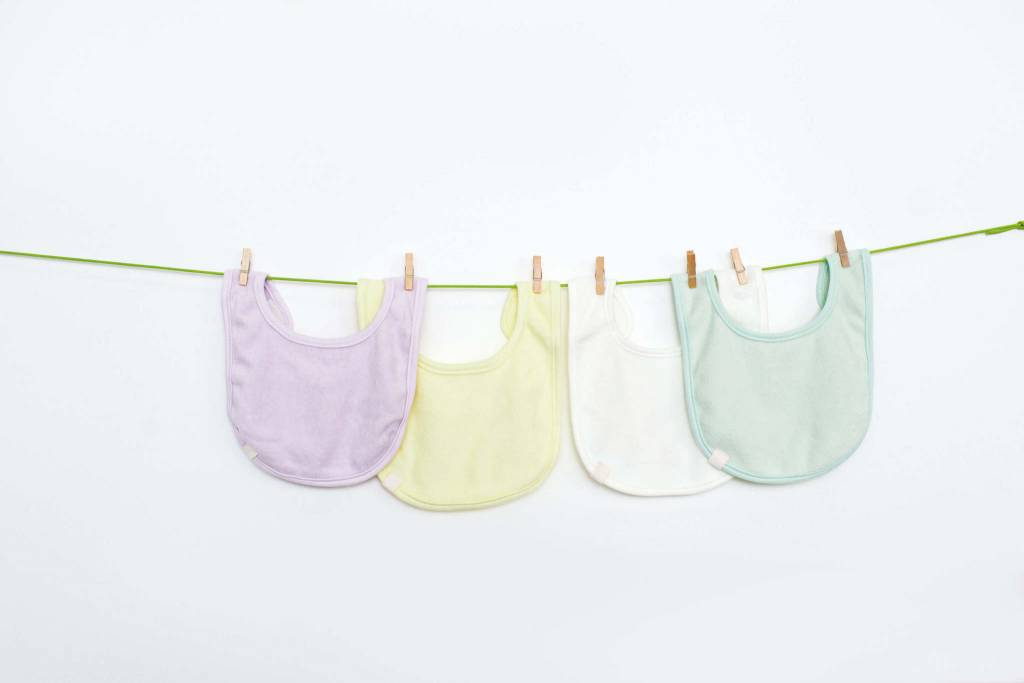 Lassig Newborn Bib Mint 3-Pack