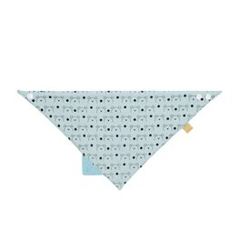Lassig Bandana With Silicone Teether Little Chums Dog