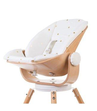 Childhome Evolu Newborn Comfortkussen Jersey Gold Dots