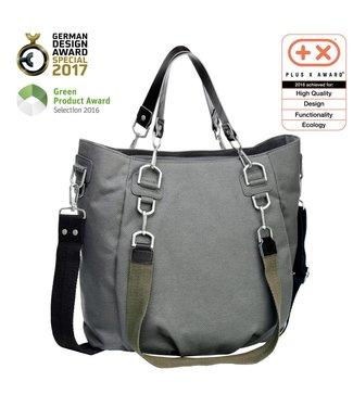 Lassig Green Label Mix & Match Bag Antracite