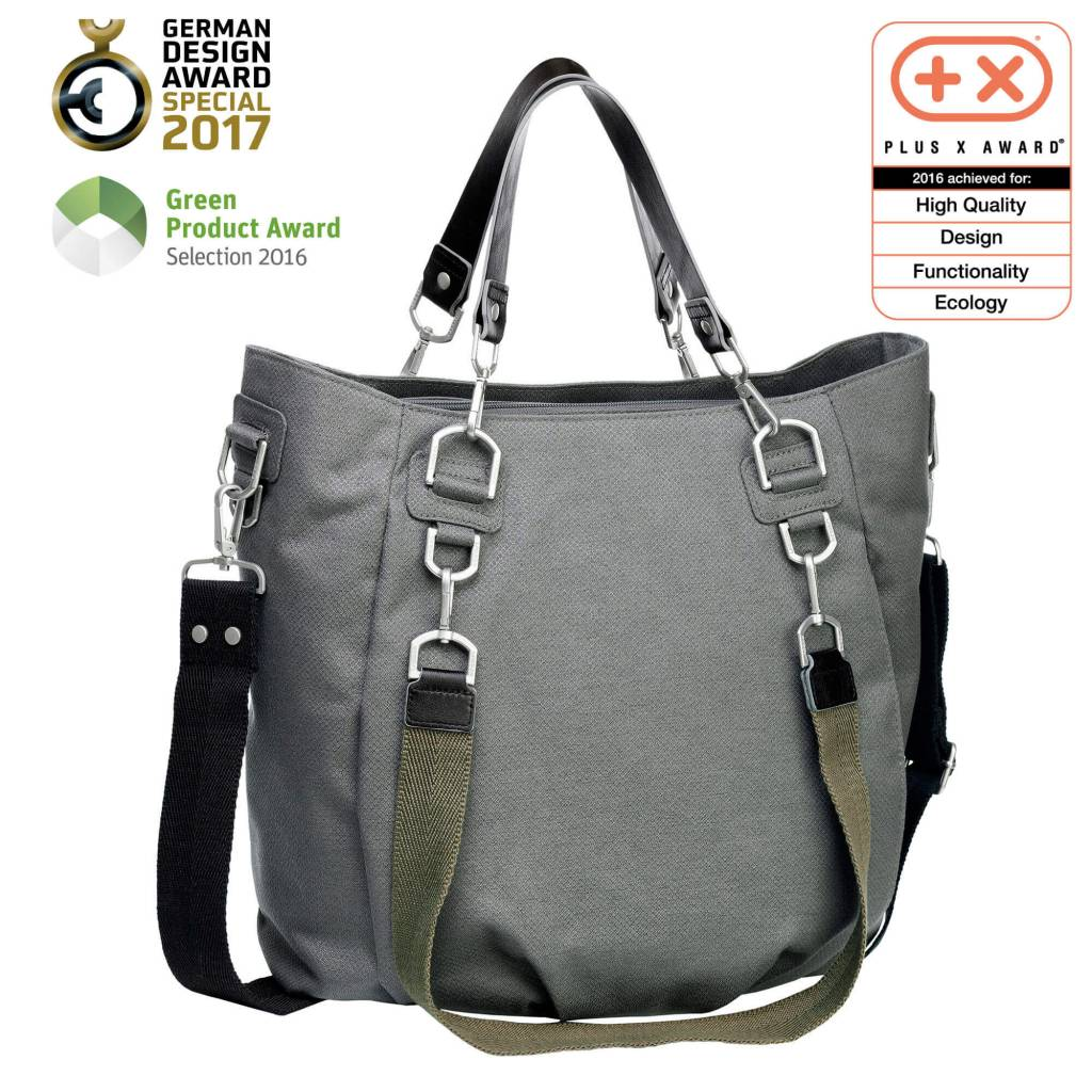 Lassig Green Label Mix & Match Bag Antracite