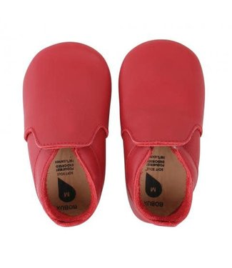Bobux Soft Sole Red Loafer
