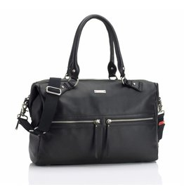 Storksak Nursey Storksak Caroline Leather Black