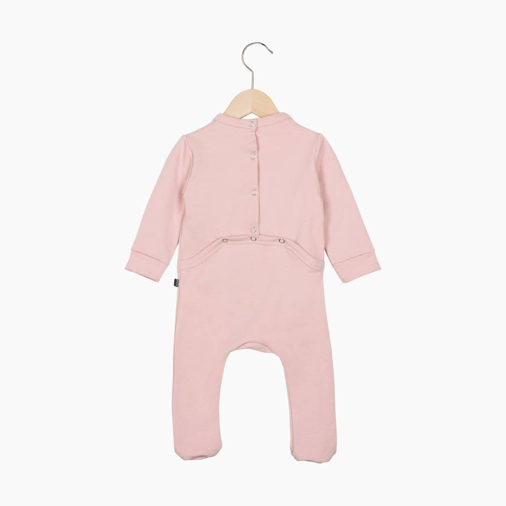House Of Jamie Bow Tie Babysuit Powder