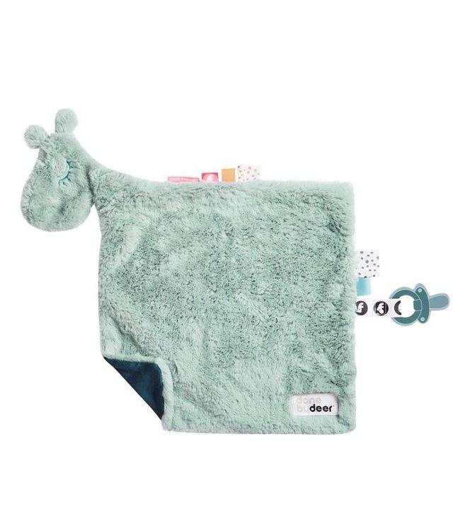 Done By Deer Comfort Blanket Raffi Blue