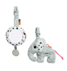 Done By Deer To Go Activity Set Grey