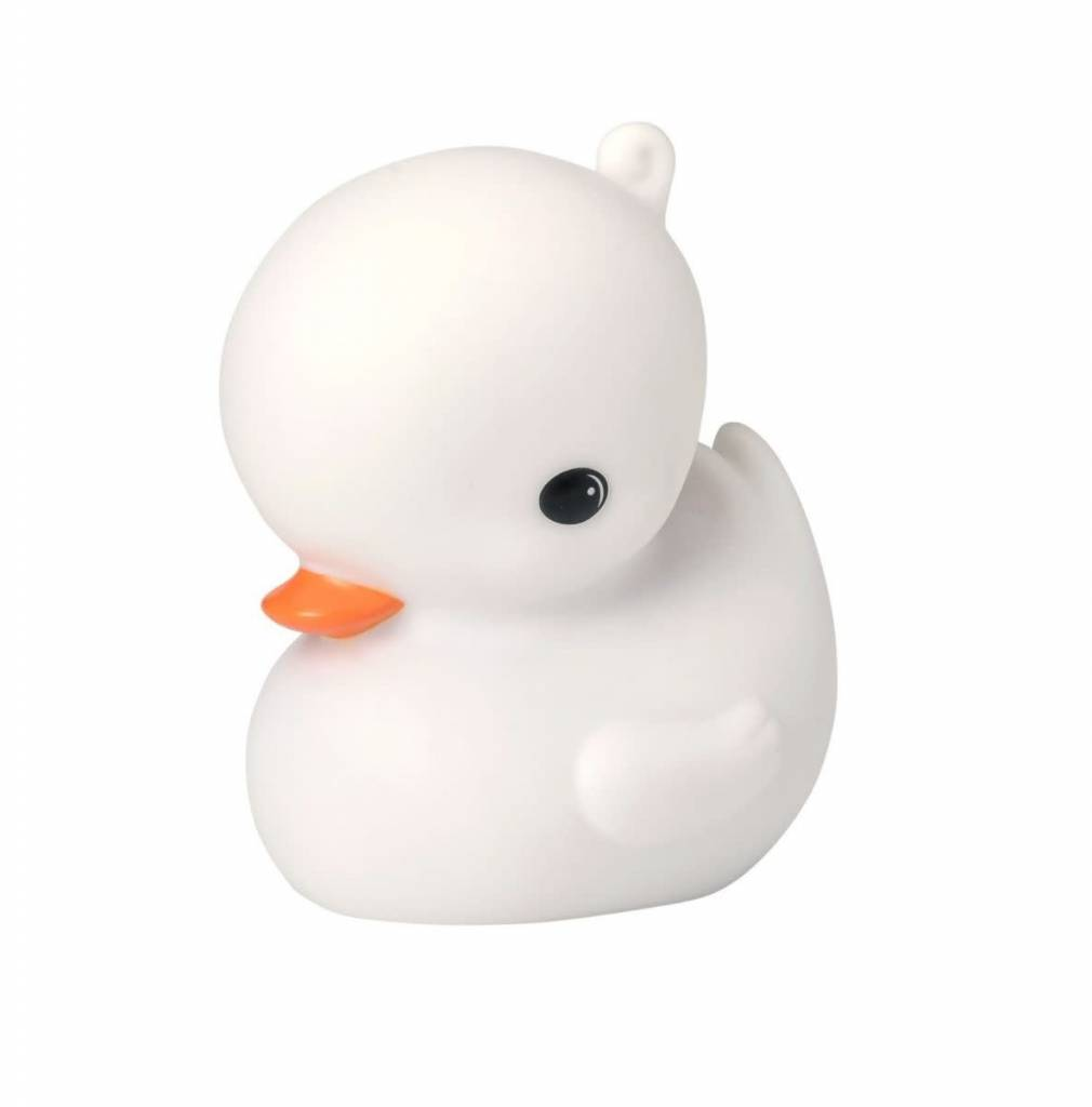 A Little Lovely Company Little Light Duck White