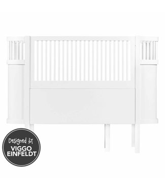 Sebra Kili Baby & Junior Bed White