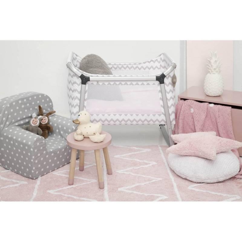 Lorena Canals Mat Hippy Soft Pink 120 x 160 cm