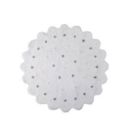 Lorena Canals Mat Galletita White 140 cm