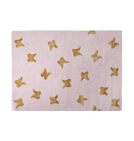 Lorena Canals Mat Wings Pink Gold 140 x 200 cm