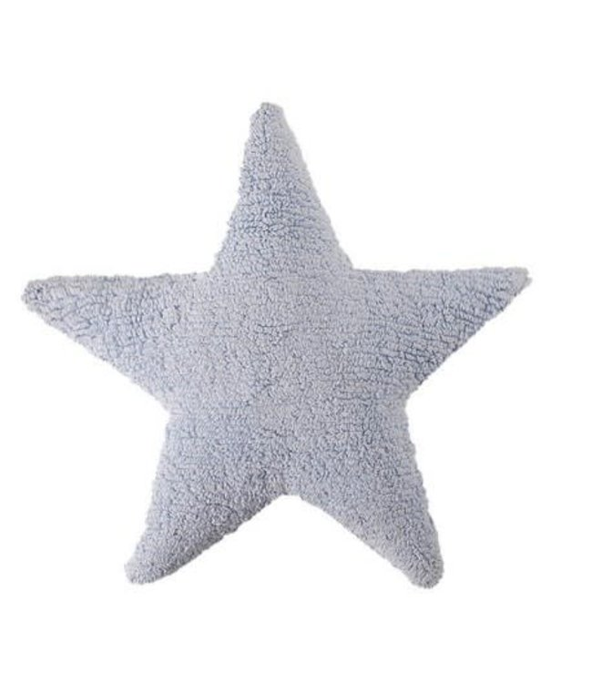 Lorena Canals Cushion Star Blue